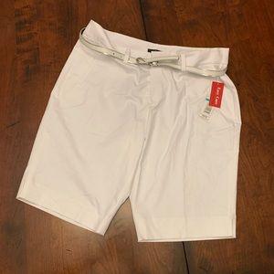 White Rafaella shorts